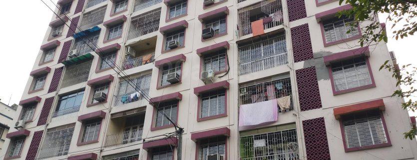 Highrise residential near Siksha Sadan School